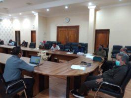 Komisi C DPRD Tulungagung saat hearing bersama PT BPR Bank Tulungagung, Senin (4/5).