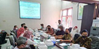Pansus III saat melakukan pembahasan dana cadangan bersama Tim Asistensi Pemkab Tulungagung dan KPU Tulungagung serta Bawaslu Tulungagung, Rabu (22/9).