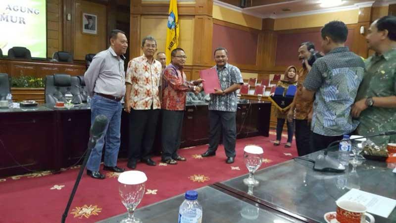 Pansus I Studi Banding Di Kabupaten Serang Dprd Kabupaten Tulungagung
