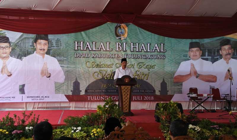 Gelar Halal Bi Halal Idul Fitri 1439 H Dprd Kabupaten Tulungagung