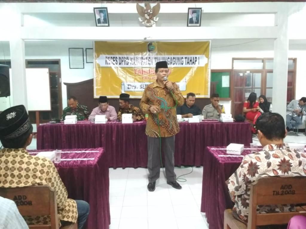 Serap Aspirasi Masyarakat Kecamatan Bandung Dprd Kabupaten