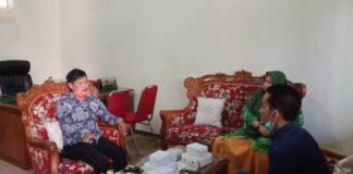 Ali Masrup saat menerima kedatangan pimpinan DPRD Kabupaten Pekalongan di Ruang Kerja Sekwan, Kamis (17/9).