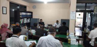 rapat komisi A dan Dindkpora