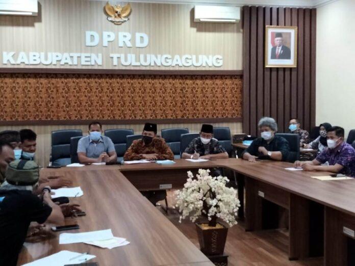 audiensi pimpinan dan LSM Cakra